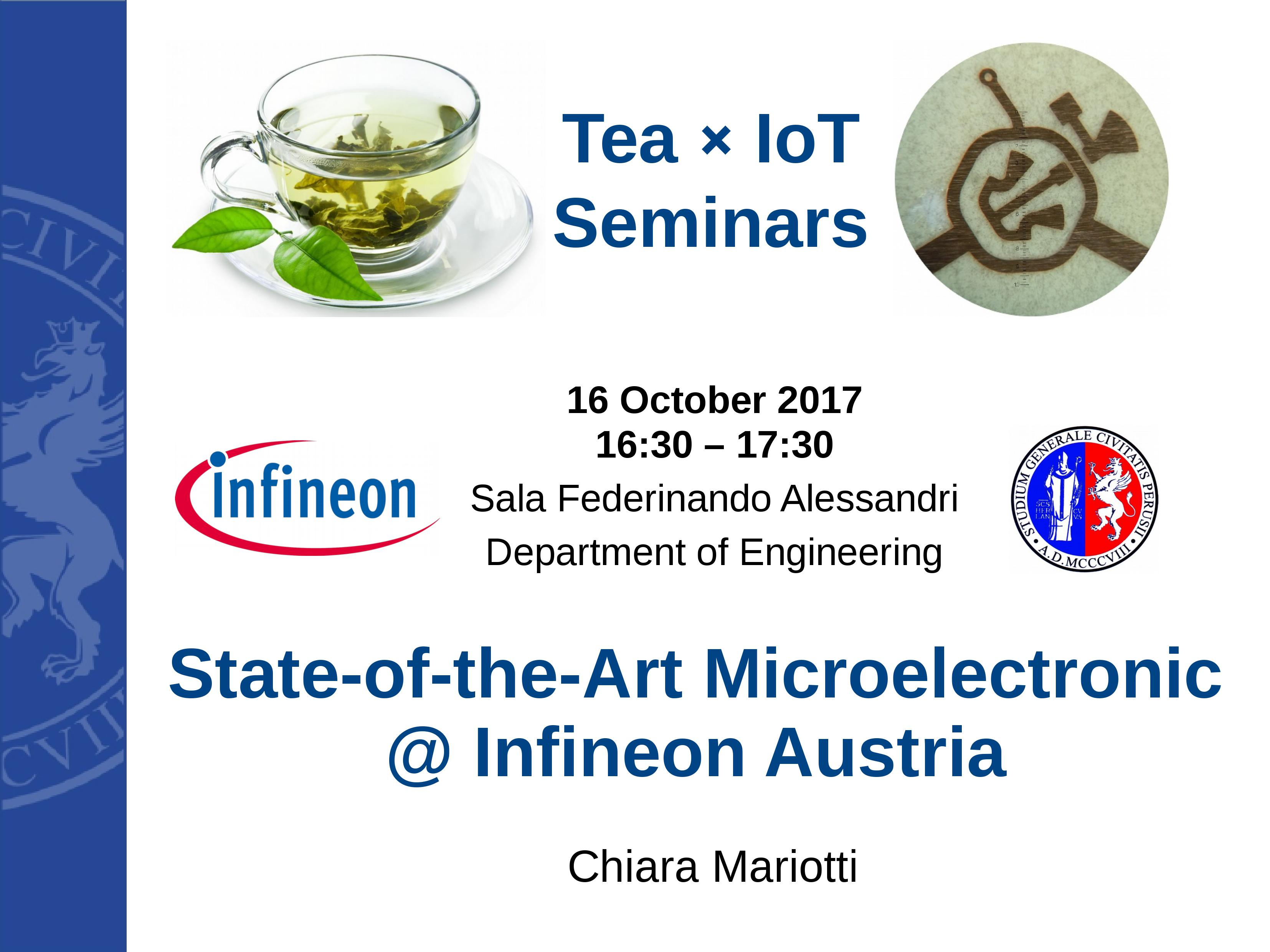 State-of-the-Art Microelectronic @ Infineon Austria