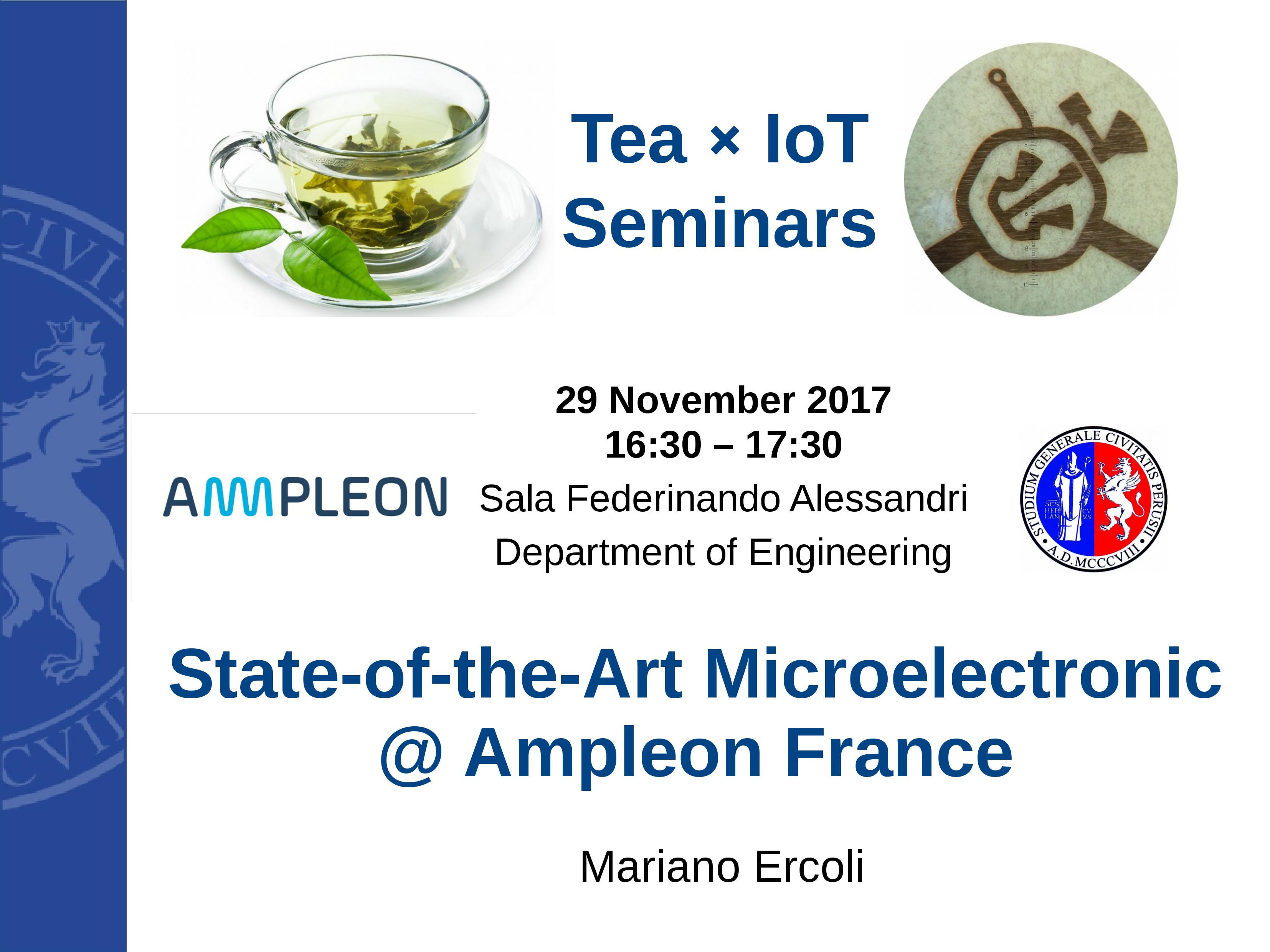 State-of-the-Art Microelectronic @ Ampleon France