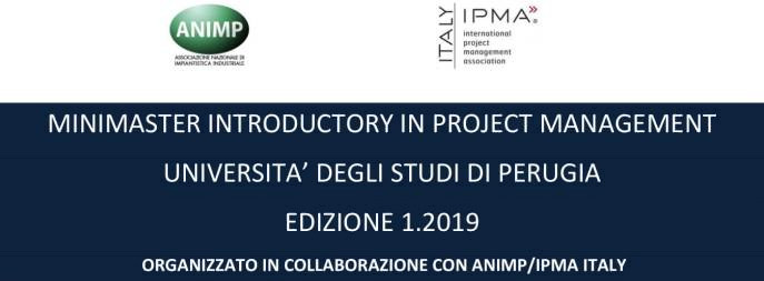Minimaster Introductory in Project Management - 2019